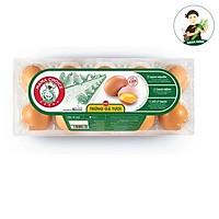 [Chỉ  Giao HCM]Trứng Gà tươi  - vỉ 6 trứng