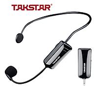 Micro không dây, mic không dây, micro cài đầu không dây TAKSTAR HM-200W công nghệ UHF - AVSTAR - hàng chính hãng