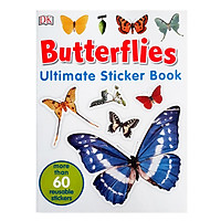 Ultimate Sticker Book Butterflies