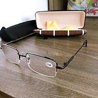 Kính viễn thị lão thị 221 kính nửa viền sang trọng măt sáng và trong cao cấp cực nhẹ cực thời trang