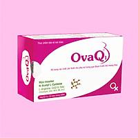 Thực phẩm chức năng hỗ trợ thai sản Ovaq1 hộp 60 viên