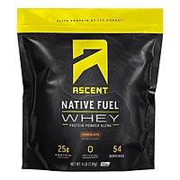 Ascent Native Whey 1.82kg chứng nhận