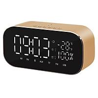 Loa Bluetooth Yayusi S2 LED tích hợp đồng hồ báo thức, đo nhiệt độ - Hàng Nhập Khẩu