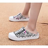 Giày nhựa kiểu dáng thể thao khoét gót cho nữ - SB91