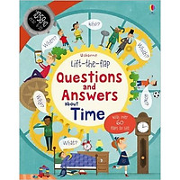 Sách tương tác tiếng Anh - Usborne Lift-the-flap Questions and Answers about Time