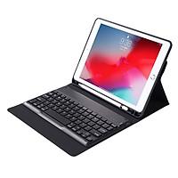 Bàn phím Bluetooth kèm bao da cho iPad Pro 12.9 Promax SD79(kèm khay đựng bút Apple Pencil) (Hàng nhập khẩu)