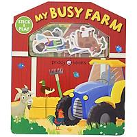 My Busy Farm: Magic Sticker Play & Learn