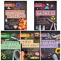 Combo 5 cuốn Khoa Học Khắp Quanh Ta: Siêu Giác Quan + Những Vật Liệu Tuyệt Vời + Hiểu Hết Về Lực + Nhiêu Liệu + Hành Tinh Của Chúng Ta+ Bookmark cho bé