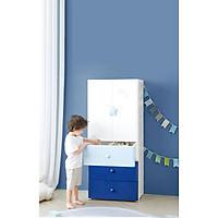 Tủ nhựa cho bé Kub đựng quần áo trẻ em đồ sơ sinh 4 tầng 4 ngăn tủ đầu giường