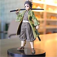 [HÌNH THẬT + BOX] Mô hình nhân vật Anime Demon Slayer Kimetsu no Yaiba Kamado Tanjirou Kamado Nezuko (nhựa PVC - 16cm)