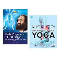 Combo 2 cuốn : Kinh Yoga Của Patanjali + Khoa Học Về Yoga