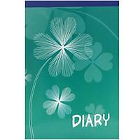 Sổ Diary A4 - Màu Xanh