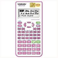 Máy Tính Vinacal 680EX Plus - Màu Hồng