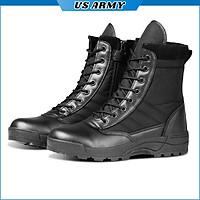 Giày Cao Cổ Nam U559 Kiểu Dáng Giày Chiến Thuật Boot Nam Chuyên Phượt, Giày Swat Lính -HÀNG CHÍNH HÃNG