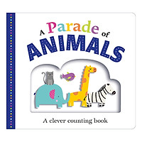 A Clever Counting Book: A Parade of Animals (Board Book Picture Fit)