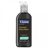 Gel rửa mặt than hoạt tính T-Zone Skincare Charcoal Facial Wash 200ml [ Được Mask 3W Clinic ]