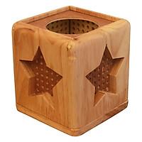 Đèn Xông Tinh Dầu Gỗ Cubic Star - BHK Việt Nam