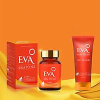Viên uống nội tiết tố Eva Sâm Tố Nữ (Tặng kèm Gel vệ sinh Eva Sâm Tố Nữ 100ml)