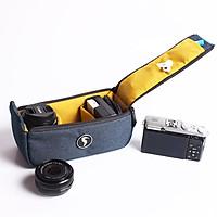 Túi đựng lens, ống kính SIVA pillow Navy sp03lens hàng chính hãng