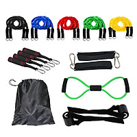 Fitness Puller Multi-functional Muscle Strength Training Rope Resistance Belt Household Resistance Bands Pull Rope