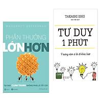 Combo 2 Cuốn Sách Về Kinh Tế Hay : Phần Thưởng Lớn Hơn + Tư Duy Một Phút ( Tặng Kèm Bookmark Thiết Kế )