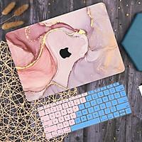 Case ốp dành cho macbook kèm tấm phủ phím - Hàng chính hãng