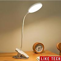 Đèn Bàn Học USB Di Động Cao Cấp Kẹp Bàn – 03 Mức Độ Ánh Sáng Vàng Bảo Vệ Mắt Chống Cận