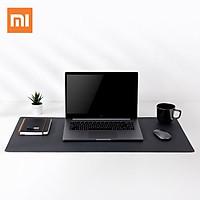 Tấm lót chuột bằng da PU cực lớn của Xiaomi Tấm lót bàn bằng gỗ sồi tự nhiên Chống bám bẩn Máy tính chống nước