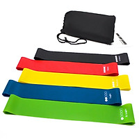 Tpe Pull Ring Fitness Resistance Band Yoga Band Pull Rope Resistance Ring Yoga