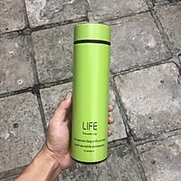 Bình Giữ Nhiệt INOX LIFE - 450ml - Chất Liệu Cao Cấp - Sang Trọng - An Toàn Cho Người Sử Dụng