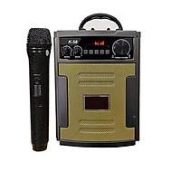 Loa kẹo kéo karaoke mini k58 kèm 1 micro không dây