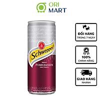 Schweppes Taste of Pomegranate 330ml - Nước ngọt có ga hương vị quả lựu SCHWEPPES 330ml