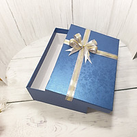 Hộp đựng quà tặng chữ nhật lớn 30x20x10cm Tặng thiệp + Giấy rơm – HQ32