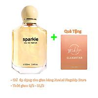 Nước Hoa LONKOOM PARFUM for Women Sparkle Yellow Perfume Floral-Aquatic Fragrance Women's Eau De Parfum EDP Fragrance 100ml 1125#