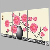 Tranh Treo Tường Hoa 3D TB.004- Tranh treo tường đẹp