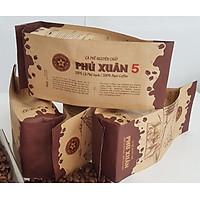 Cà phê phin - 1kg cà phê bột - Phú Xuân 5