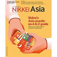 ikkei Asian Review: Nikkei Asia - 2021: BIDEN'S ASIA PUZZLE_AN A TO Z GUIDE - 20.21 tạp chí kinh tế nước ngoài, nhập khẩu từ Singapore