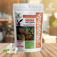 Phân hữu cơ chuyên cho Lan (tạo nhánh, ra hoa) - Thỏ Xanh MIGA (500g)