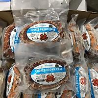 [Chỉ giao HN] - Cua nâu bắc cực Cooked Brown crab ( 1kg)