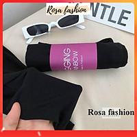 Combo 2 cái Quần legging đùi Hus cuộn tím siêu Hot, Quần biker lửng nữ - có bán lẻ 1 cái - Rosa