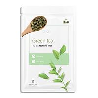 Mặt Nạ Cấp Ẩm, Nuôi Dưỡng Và Trẻ Hóa Làn Da HNB Hàn Quốc - Chiết Xuất Từ Trà Xanh ( Green Tea ) Nguyên Chất