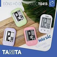 Đồng hồ đếm ngược Tanita TD413 Nhật Bản,Đồng hồ mini đếm ngược bấm giờ,Đồng hồ mini bấm giờ,Đồng hồ hẹn giờ,Đồng hồ bếp,Đồng hồ đếm ngược thời gian,đồng hồ bấm giờ đếm ngược,Đồng hồ điện tử đếm giờ,Đồng hồ điện tử đếm ngược