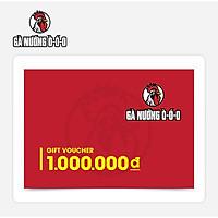 O Food - Phiếu quà tặng Gà Nướng Ò Ó O 1000K