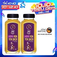 Set 2 chai Mật ong rừng Honimore Hoa Yên Bạch 500g - tăng cường sức đề kháng