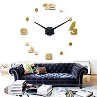Đồng hồ trang trí treo tường 3D- gắn tường sáng tạo loại lớn DH06