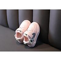 Giày thể thao cho bé gái lót lông ấm áp Size 16-26 mẫu mới thời trang