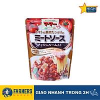 [Chỉ giao HCM] Sốt mì ý cà chua và thịt có chứa nấm Nisshin - 260G