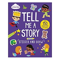Start Little Learn Big - Tell Me A Story Sticker And Draw