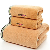Combo 3 khăn 1 lớn + 2 nhỏ chất liệu siêu thắm nước 87-205