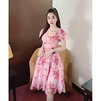 Đầm Voan Đầm Tiểu Thư Sang Trọng Thời Trang Nữ